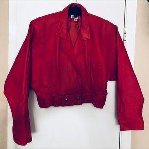 Jackets & Blazers - Two Women's Leather Coats